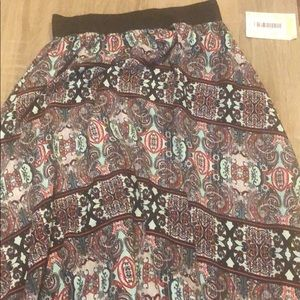 New with tags LuLaRoe Lucy Skirt XXS